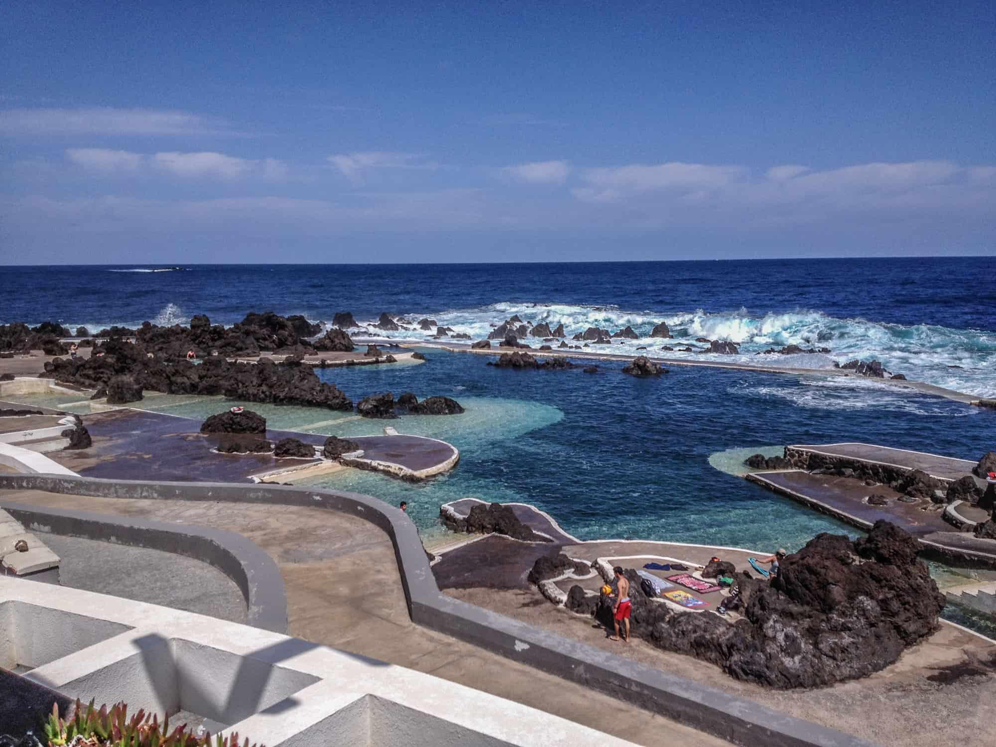Natural pools porto moniz
