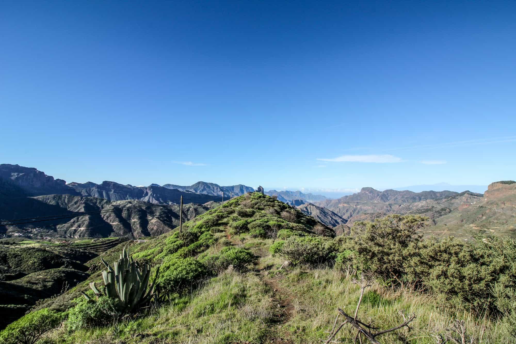 Aussichtspunkt in der Nähe von Artenara