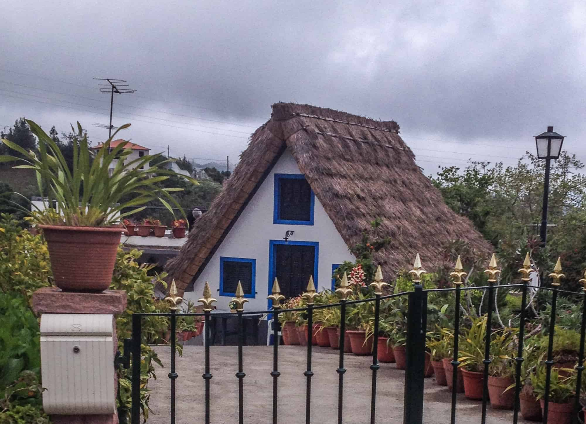traditionelles haus madeira