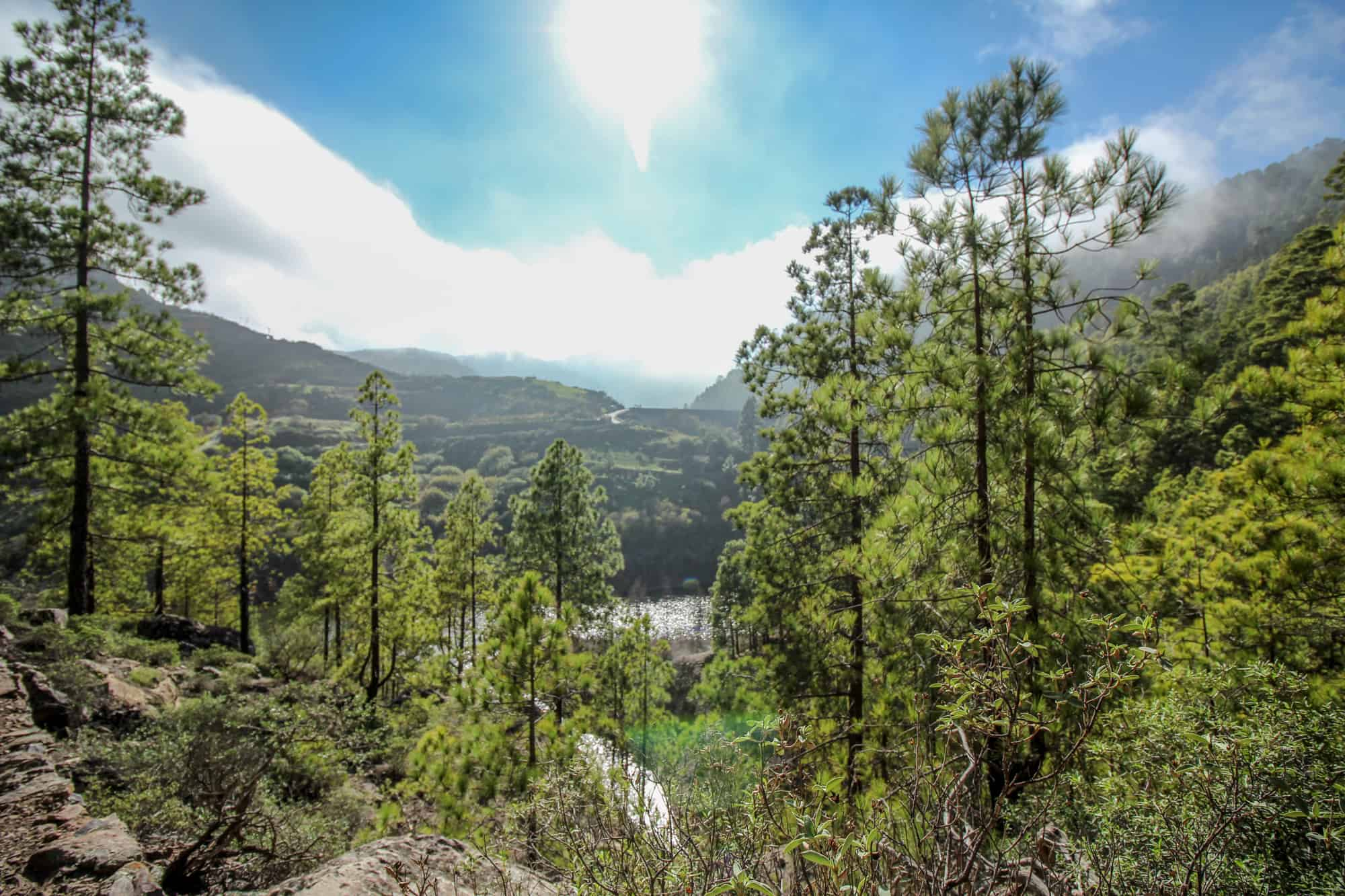 Blick auf Lugarejo