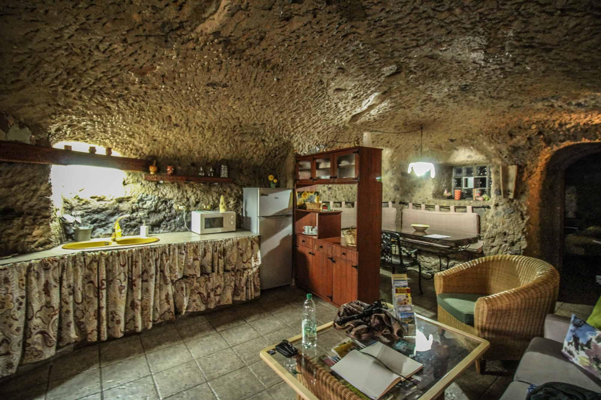 In einer Casa Cueva