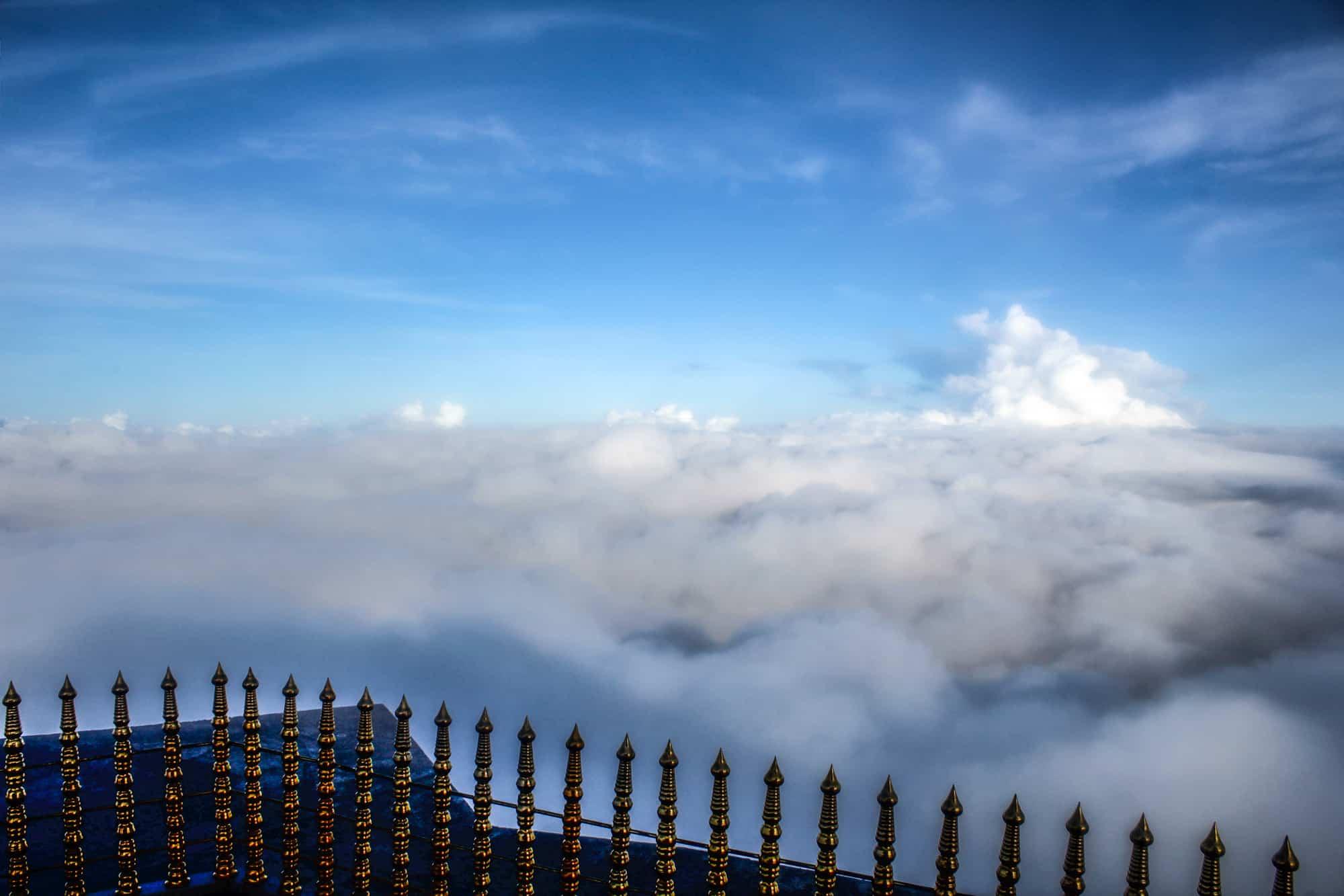 Auf dem Gipfel des Adams Peak