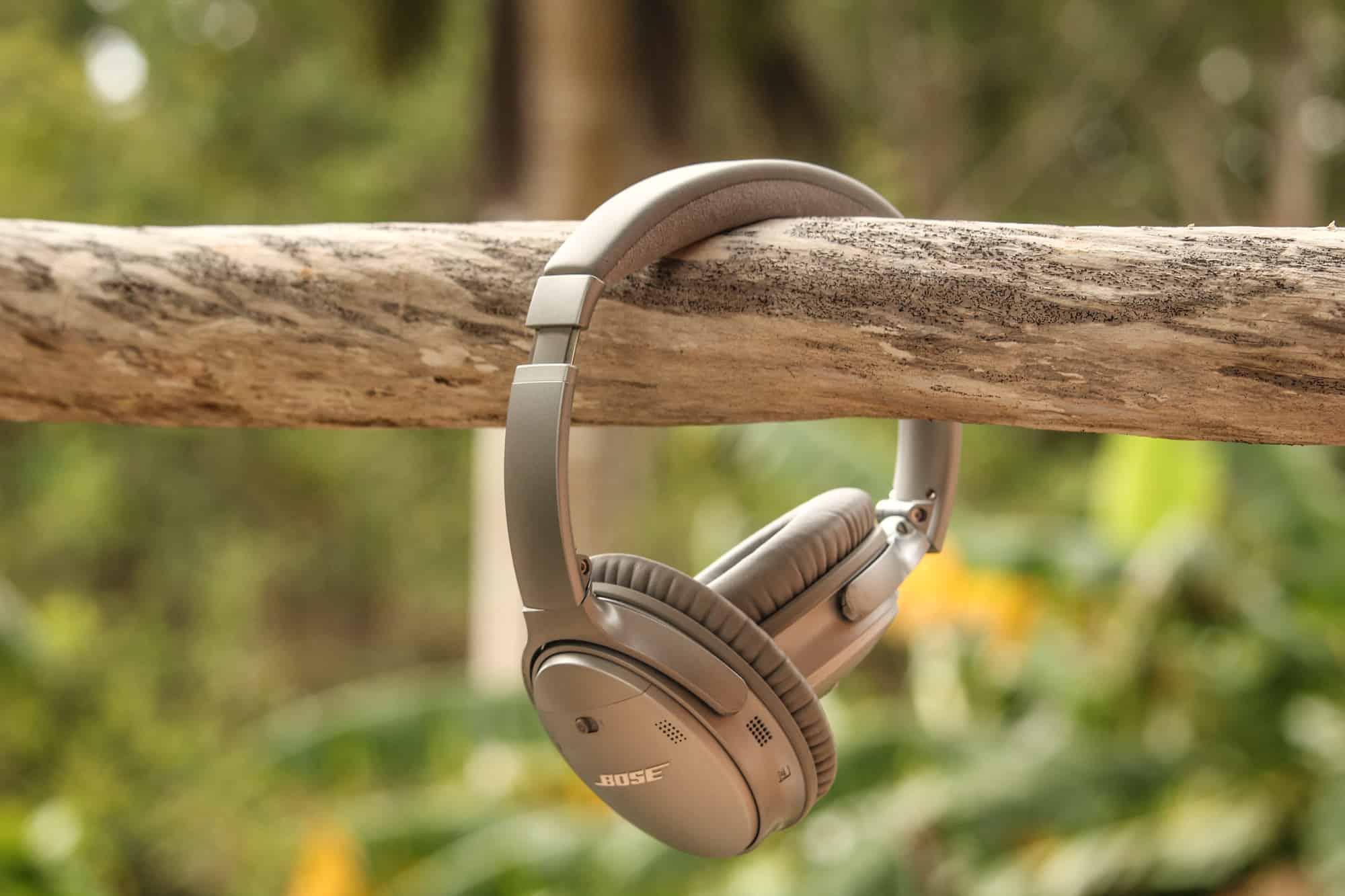 Lieblingsteile auf Reisen – Bose Noise Cancelling Kopfhörer