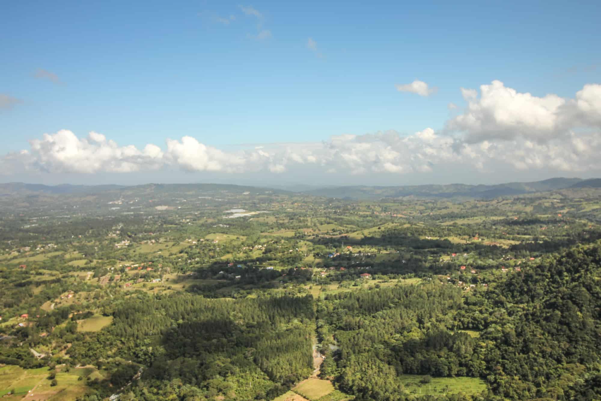 Ausblick Paragliden Jarabacoa