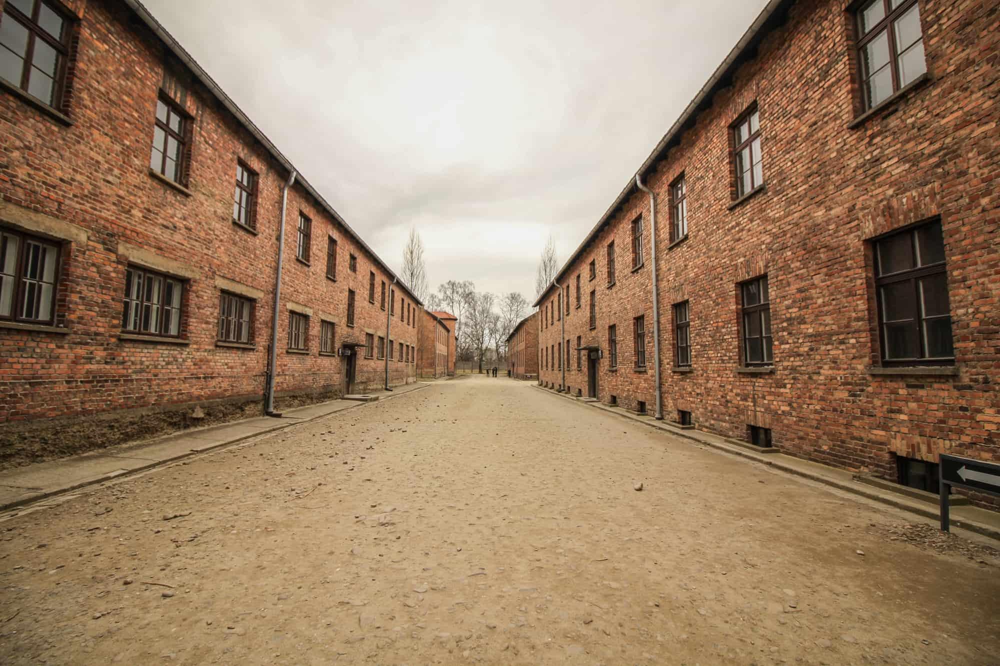 Die Häuser in Auschwitz 1