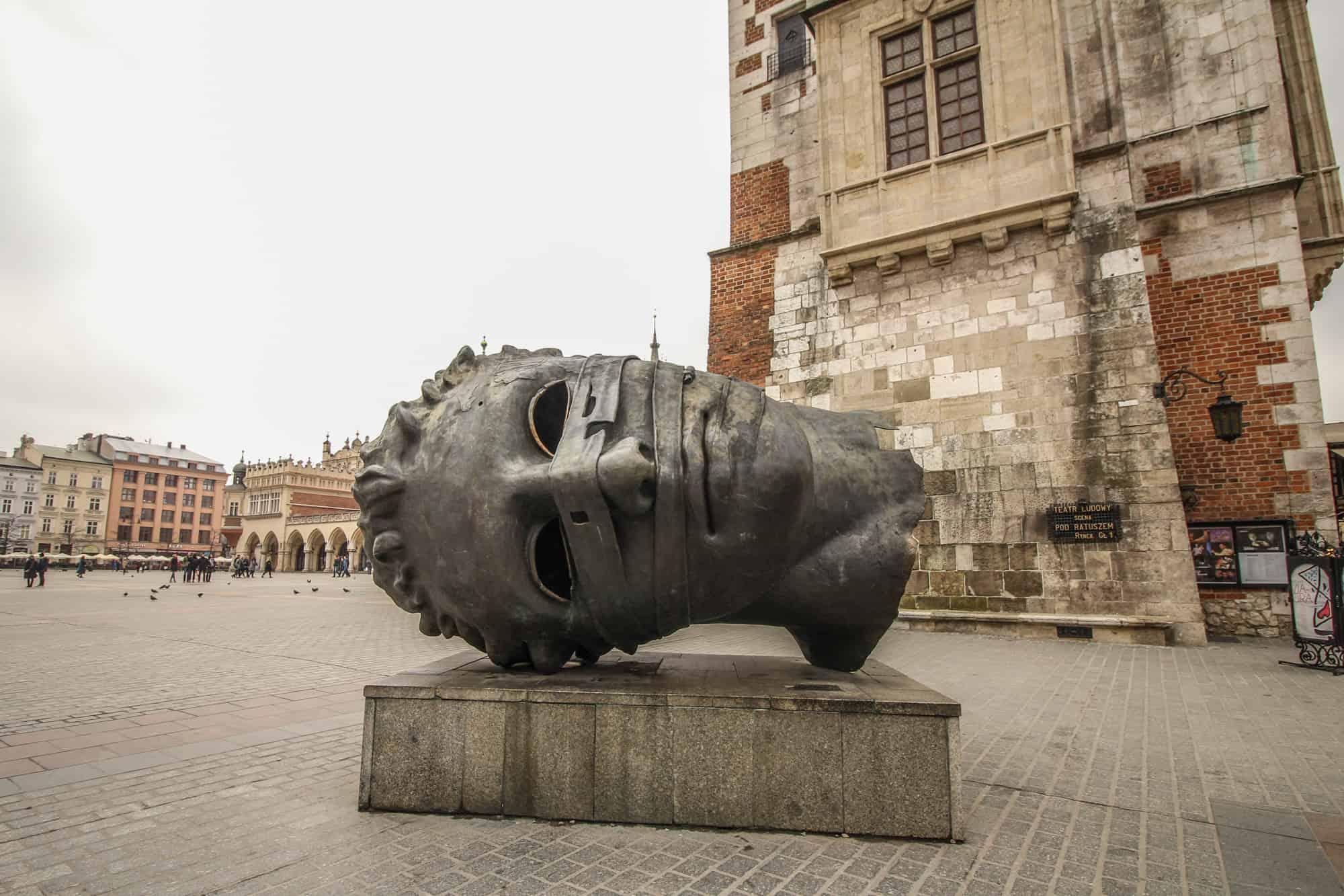 Der Kopf von Krakau