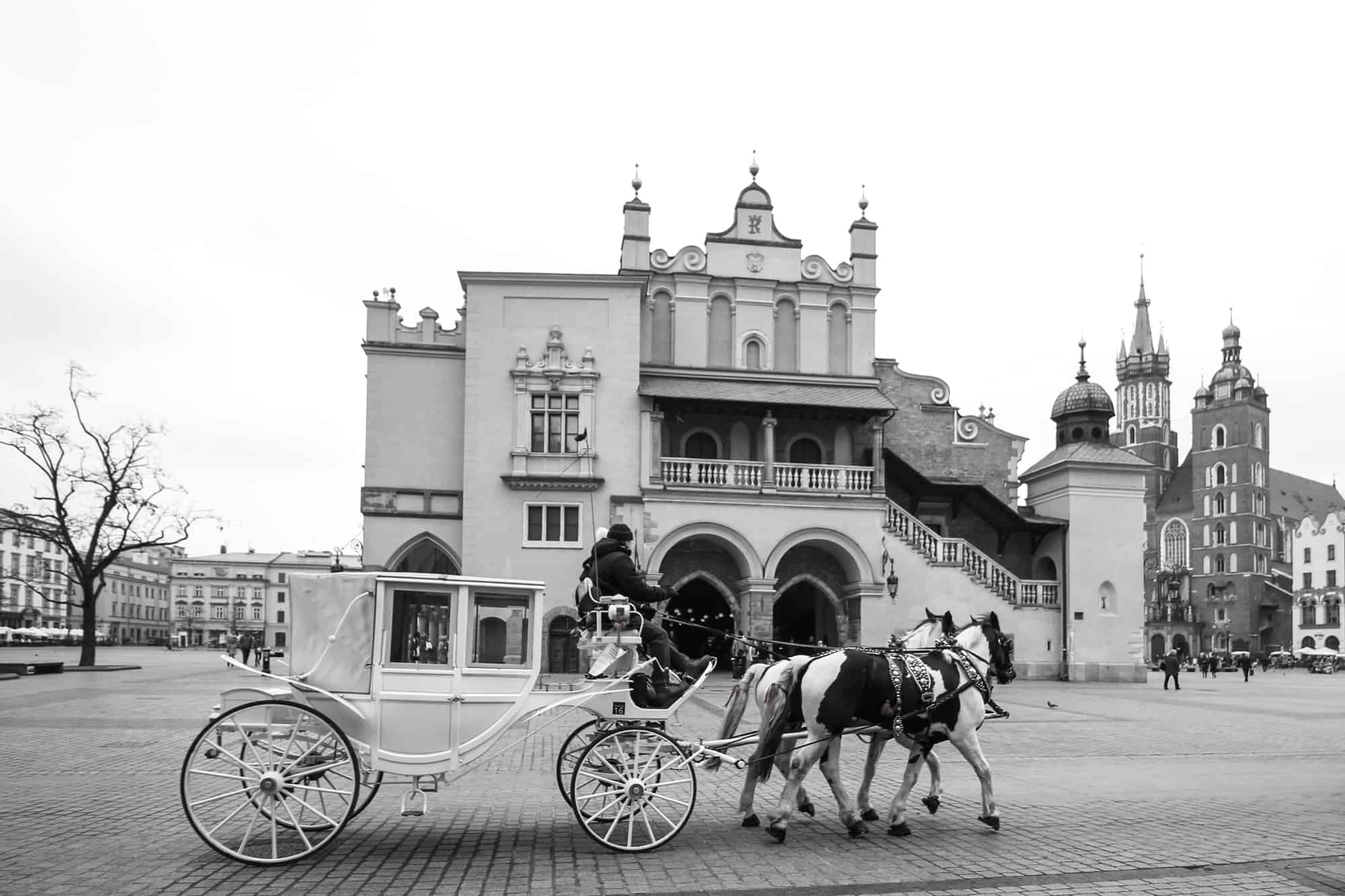Marktplatz von Krakau