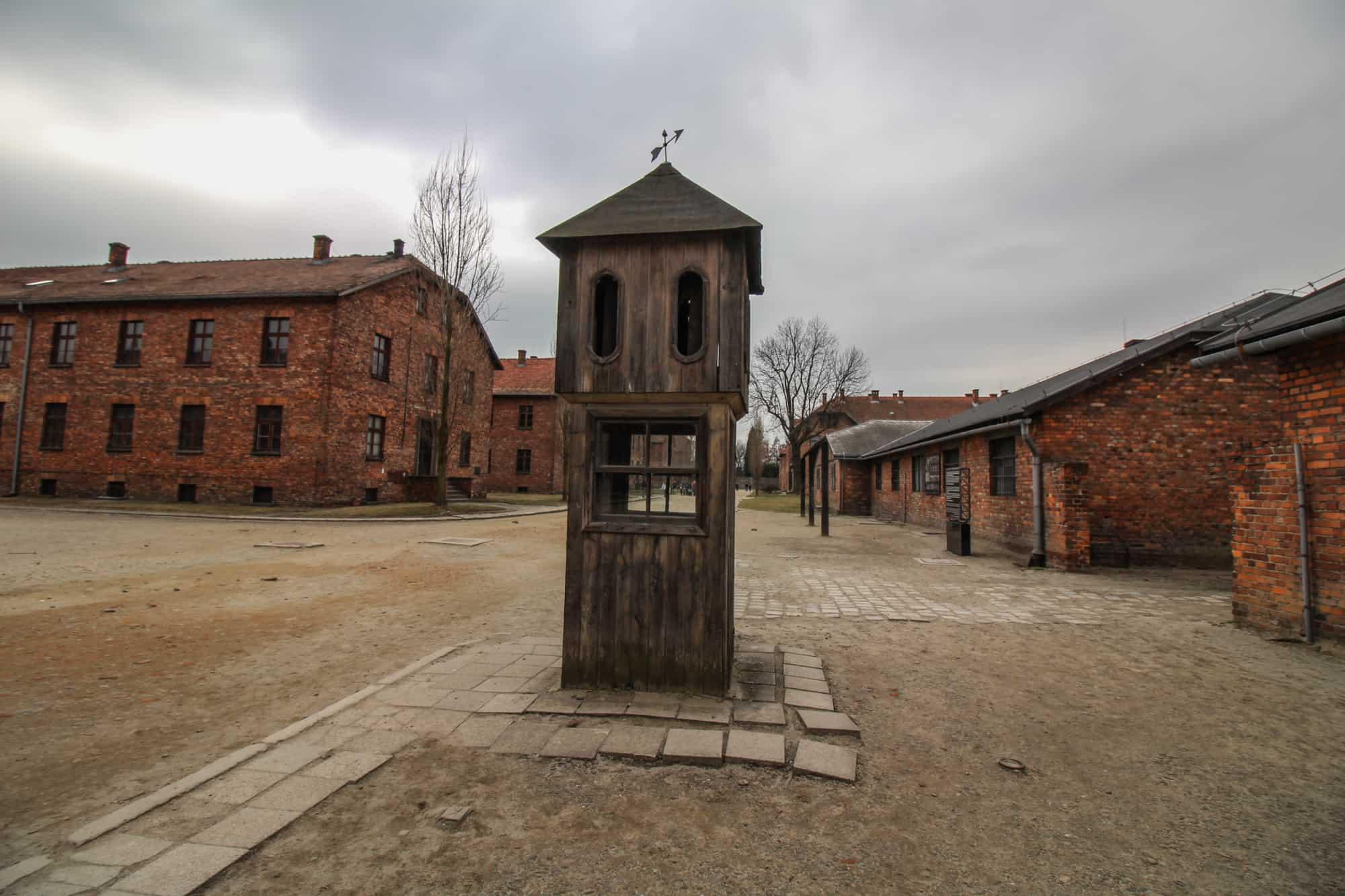 Unterstand für die SS-Soldaten Auschwitz 1