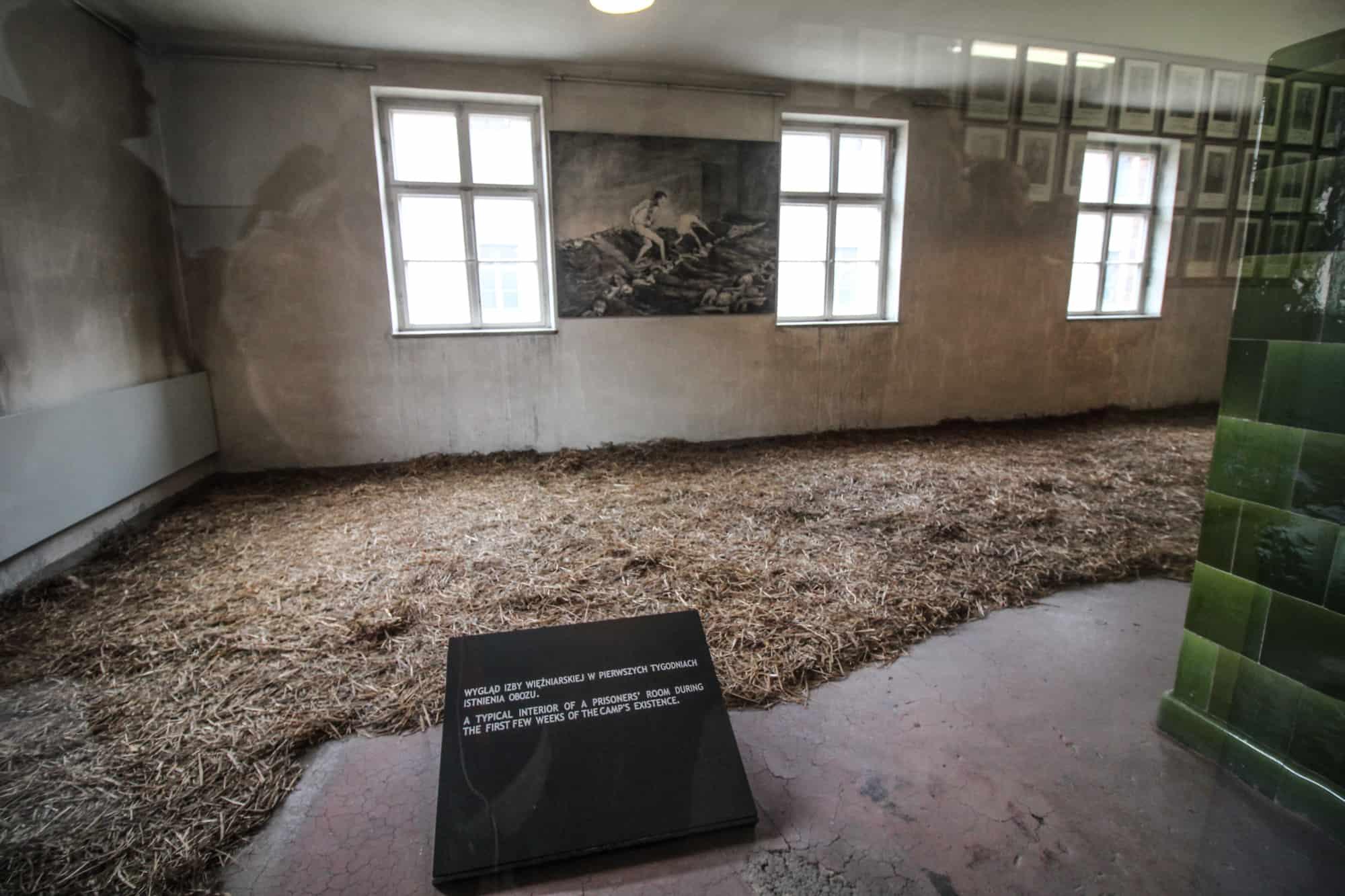 Strohlager Auschwitz