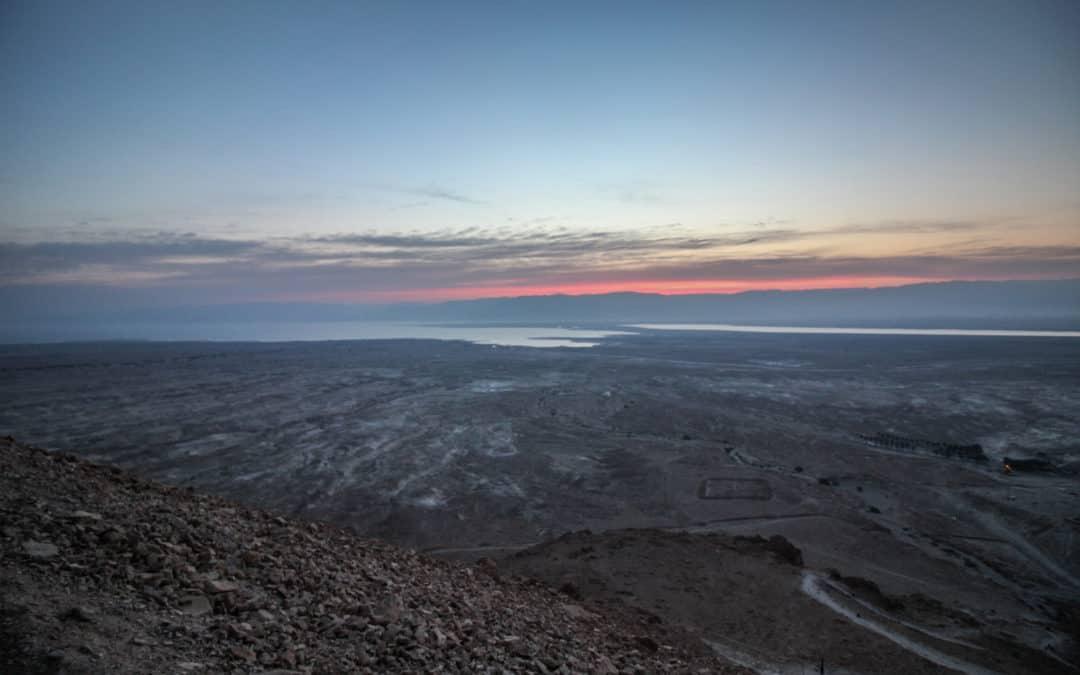 Sonnenaufgang über dem Toten Meer – Einer meiner schönsten Sonnenaufgänge
