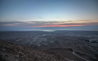 Sunrise Over the Dead Sea – One of my Most Beautiful Sunsets