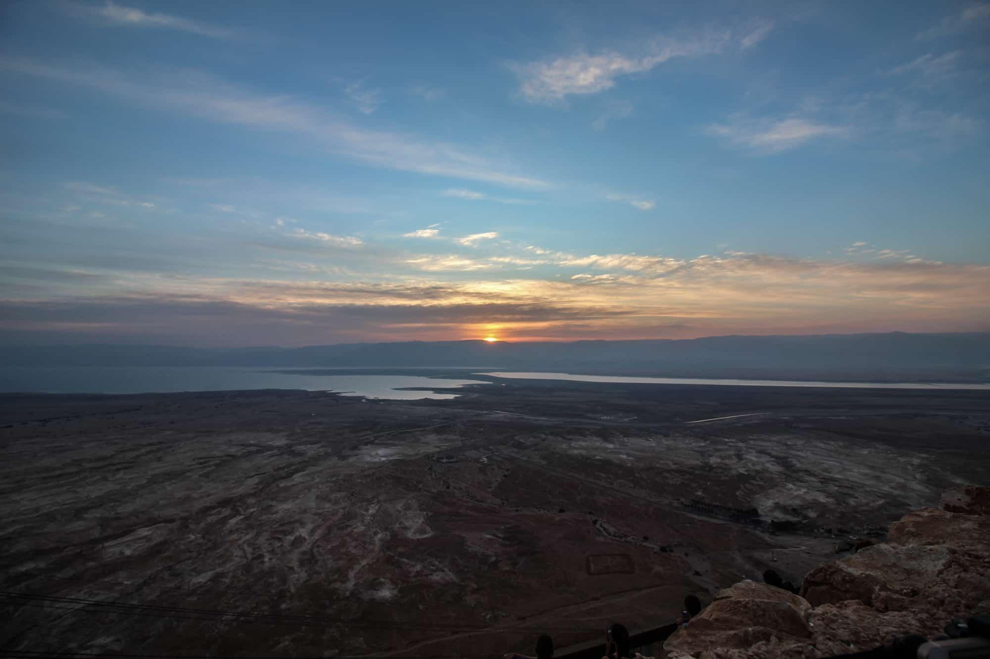 Tagesausflug ans Tote Meer – Masada Sunrise, Ein Gedi & the Dead Sea