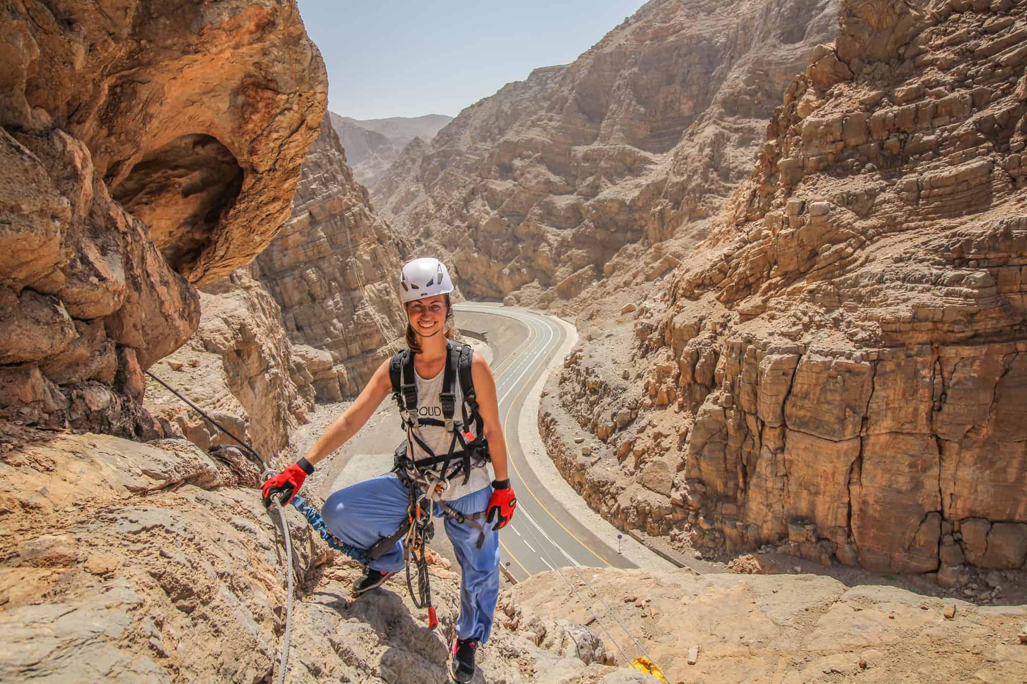 Ras al Khaimah Via Ferrata Jebel Jais