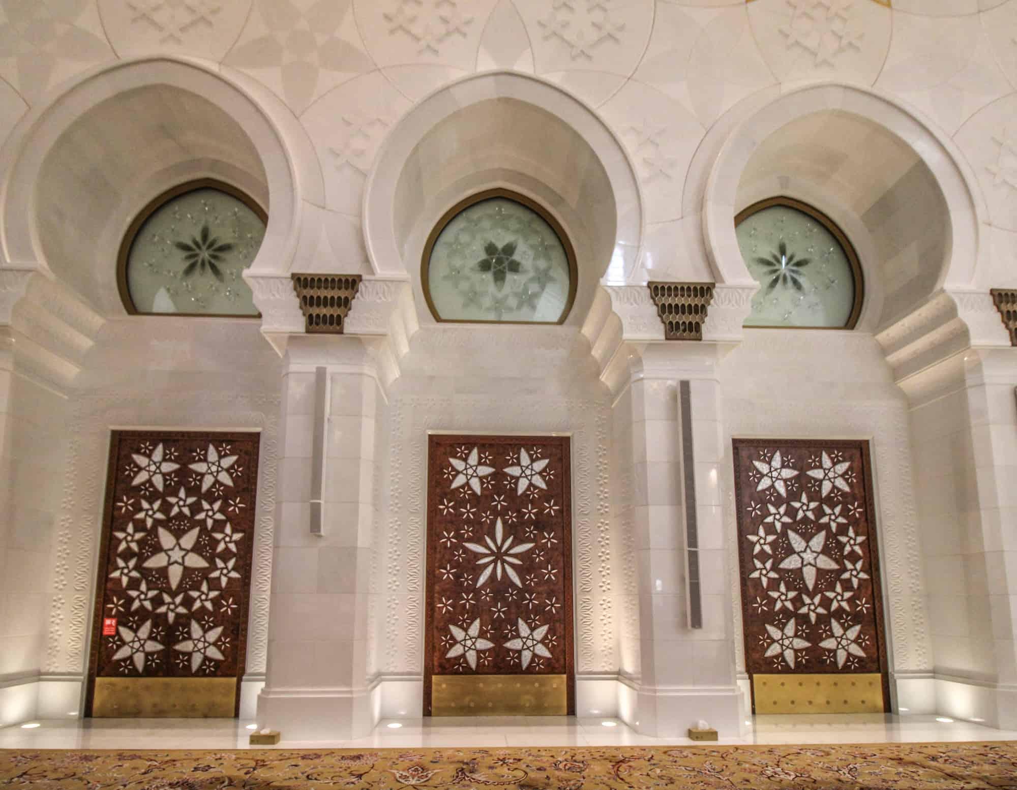 Scheich-Zayid-Moschee Gebetsräume