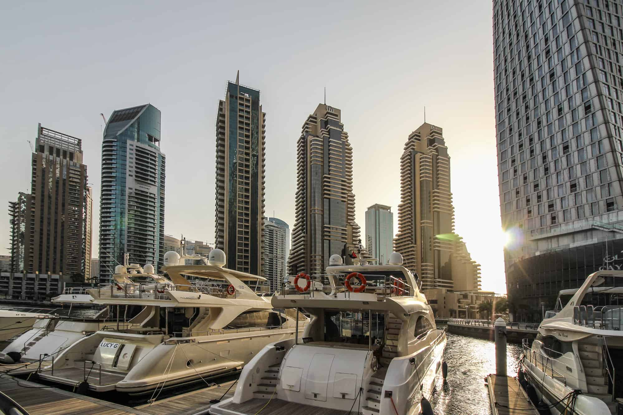 Photo Spots in Dubai – Dubai Marina