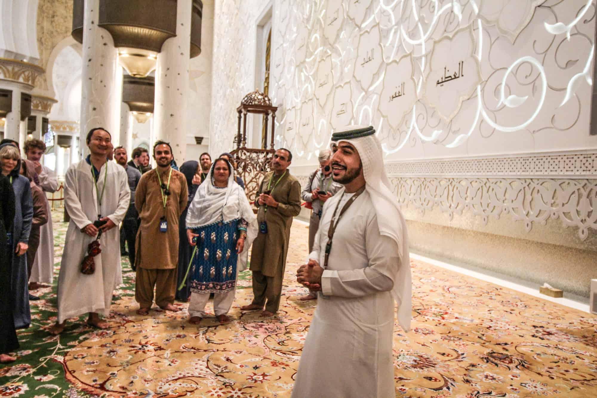 Scheich-Zayid-Moschee geführte Tour