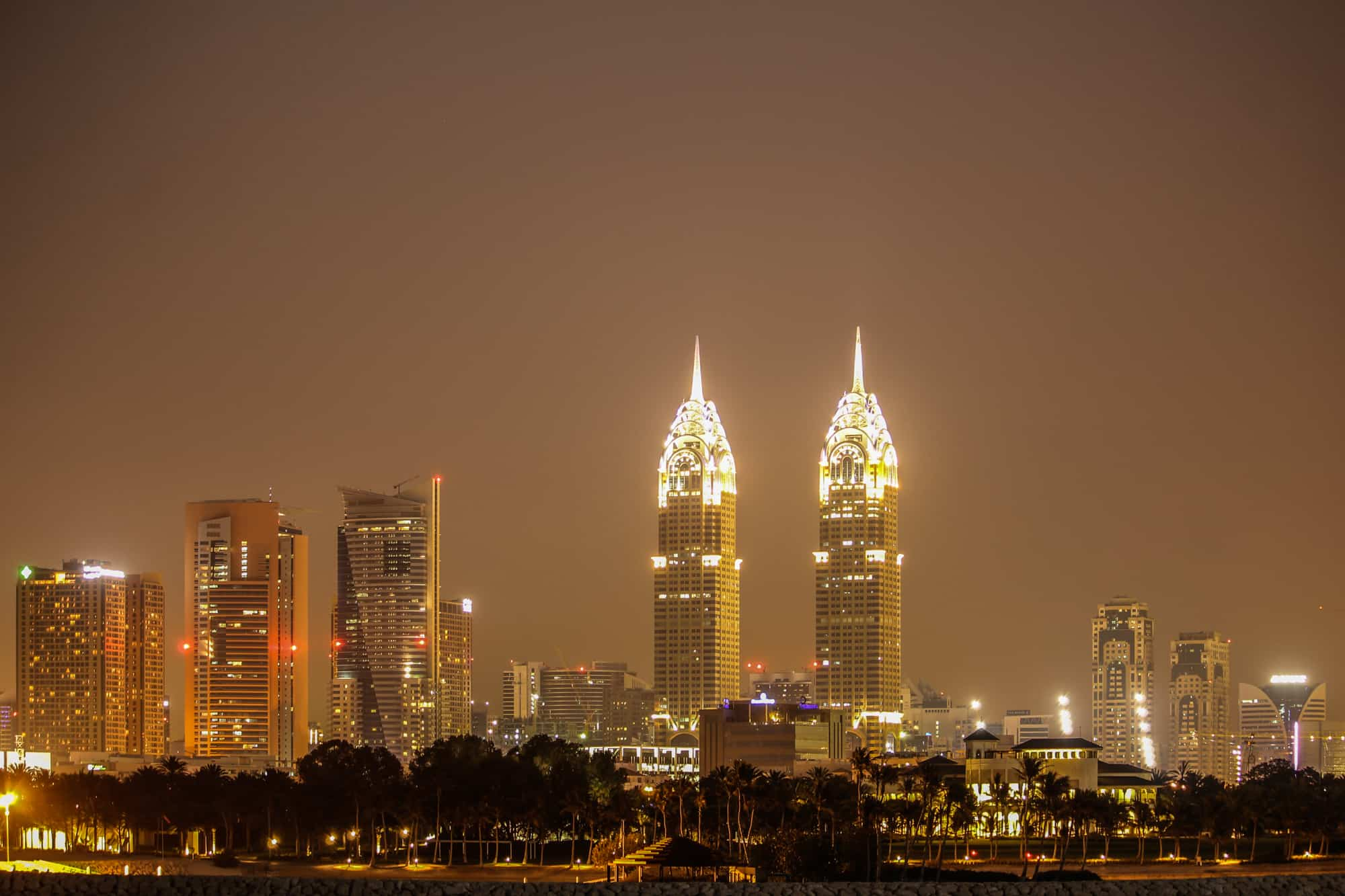 Photo Spots in Dubai – From Il Faro Restaurant and Lounge