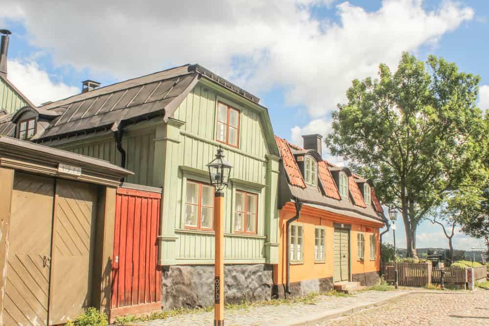 Alte Häuser in Södermalm