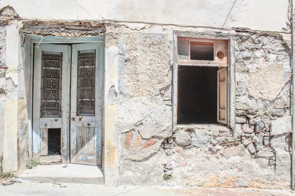 Altes Haus auf Lemnos