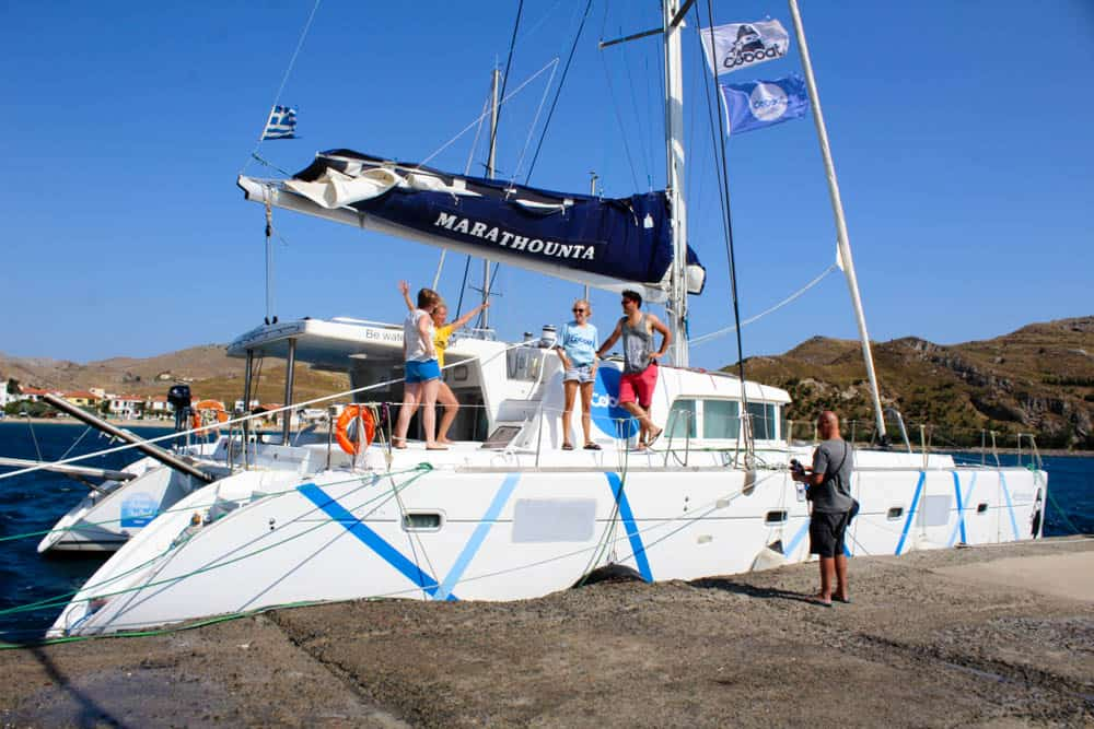 CoBoat in Lemnos - Island Hopping in Greece