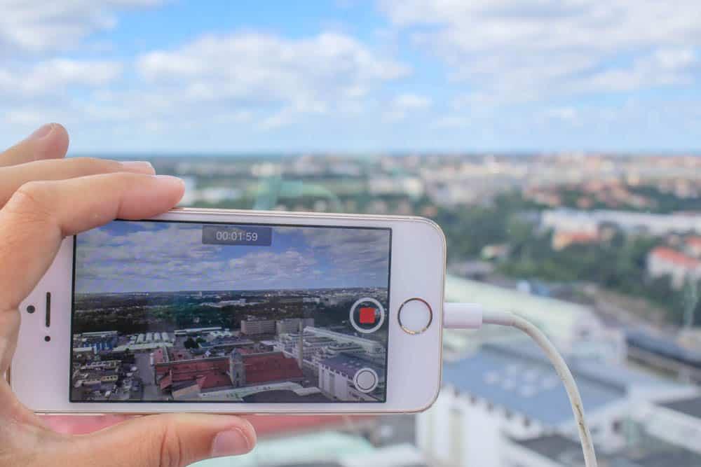 Handyvideo Globe Stockholm