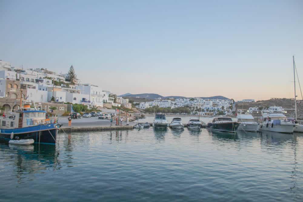 Im Hafen von Paros 2
