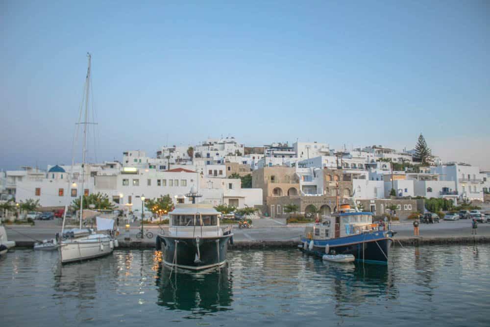 Im Hafen von Paros