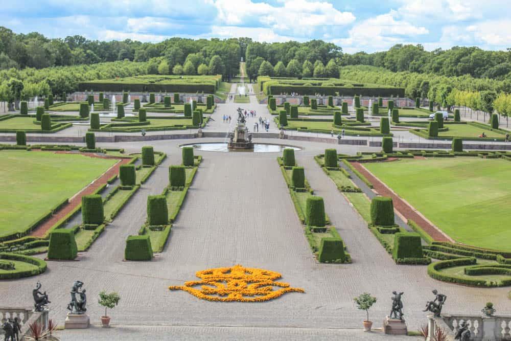 Schlossgarten Drottningholm