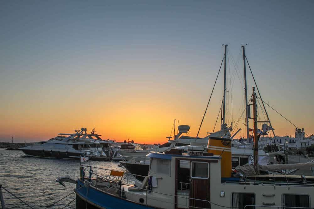 Sonnenaufgang Paros