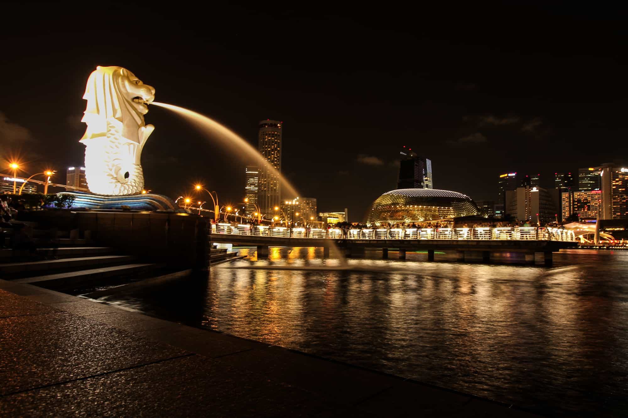 Foto-Highlights in Singapur: Merlion
