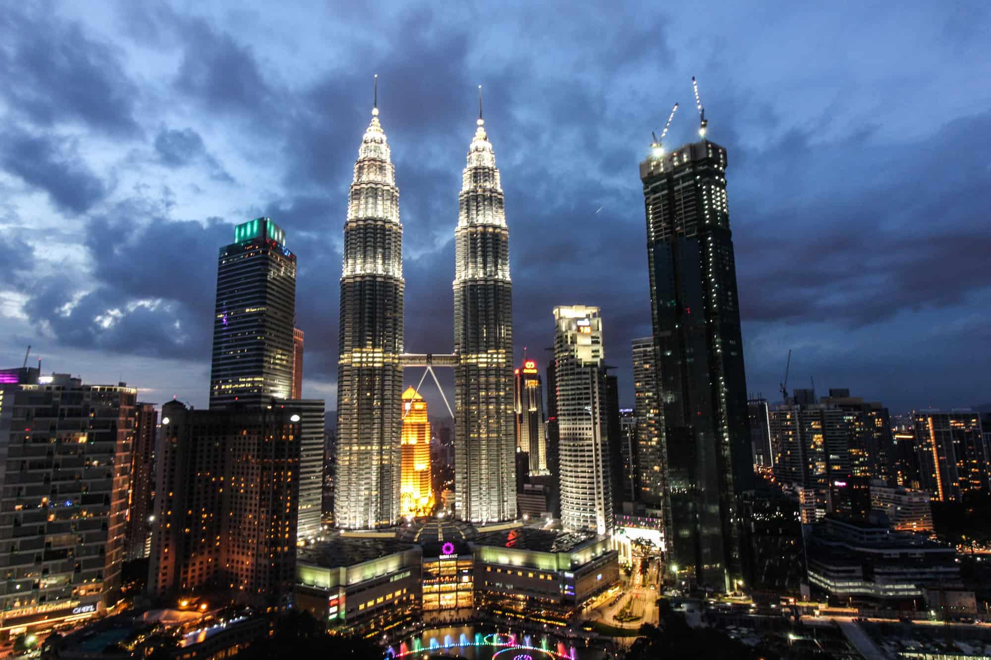 Sonnenuntergang Kuala Lumpur