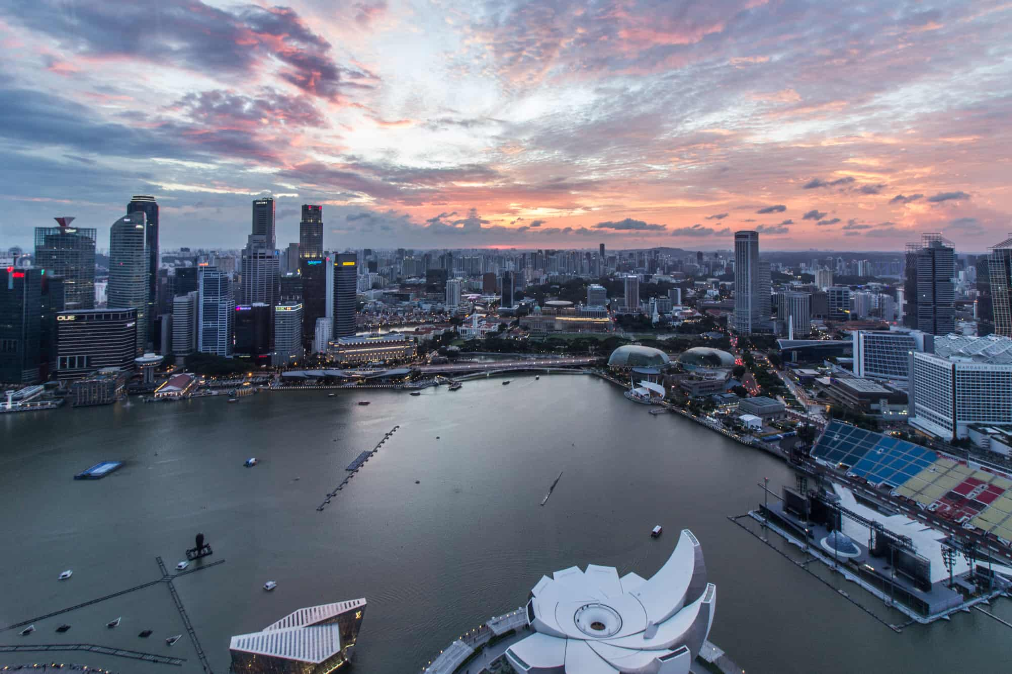 sunset singapore 3