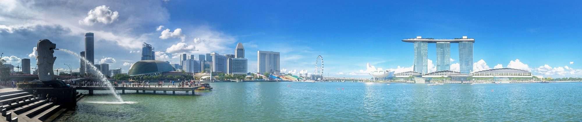 Foto-Highlights in Singapur: Skyline