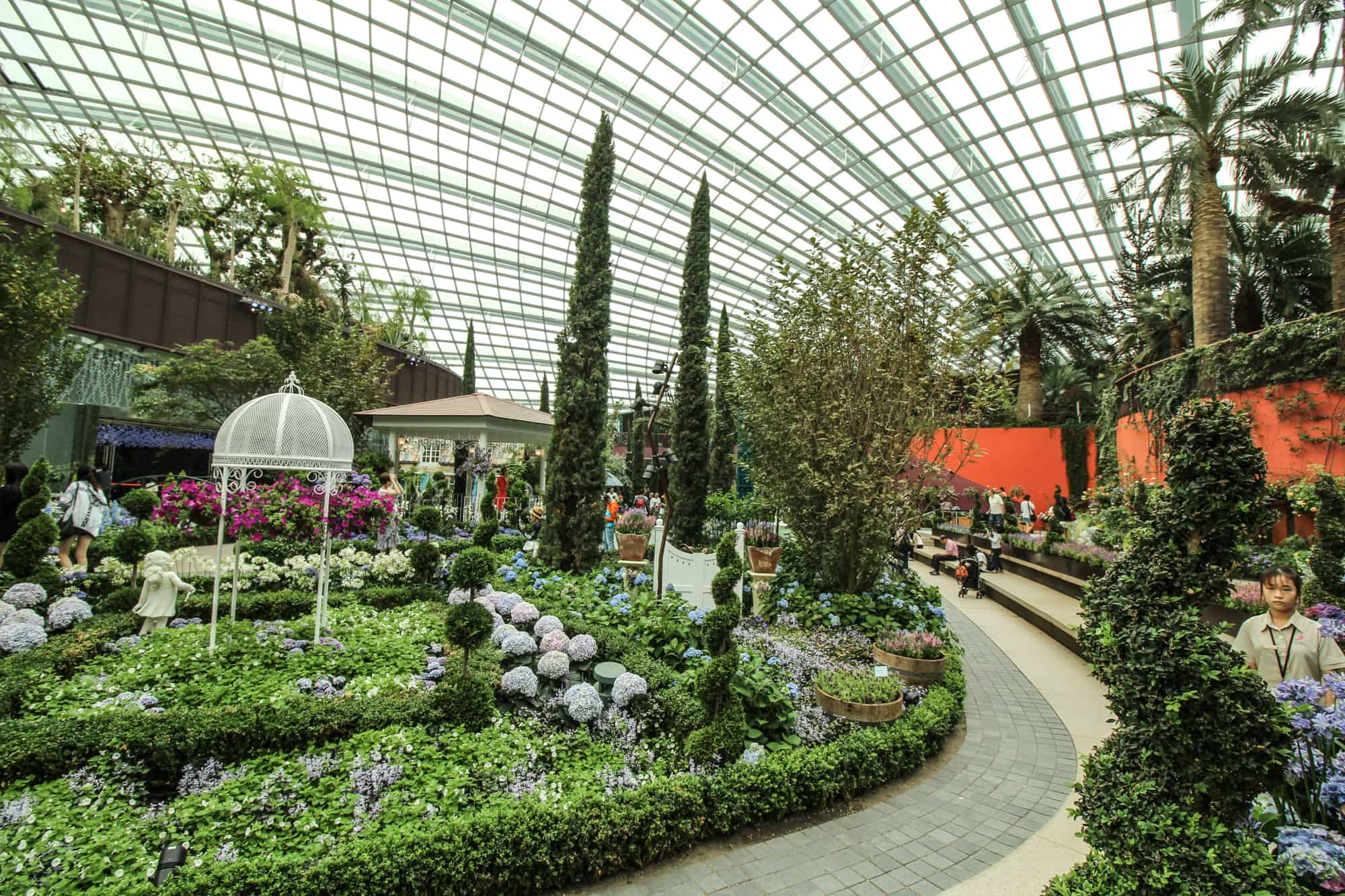 Photo Spots in Singapore: Flower Dome