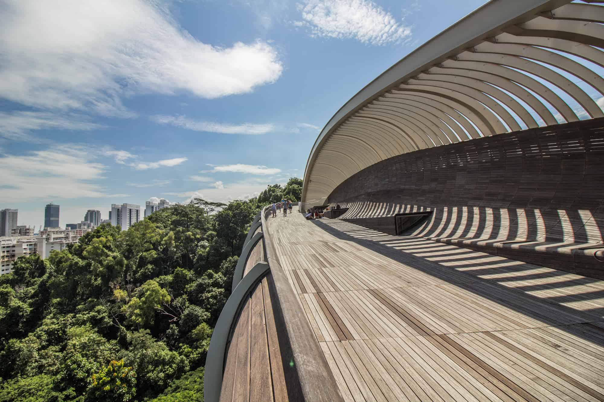 Foto-Highlights in Singapur: Henderson Waves