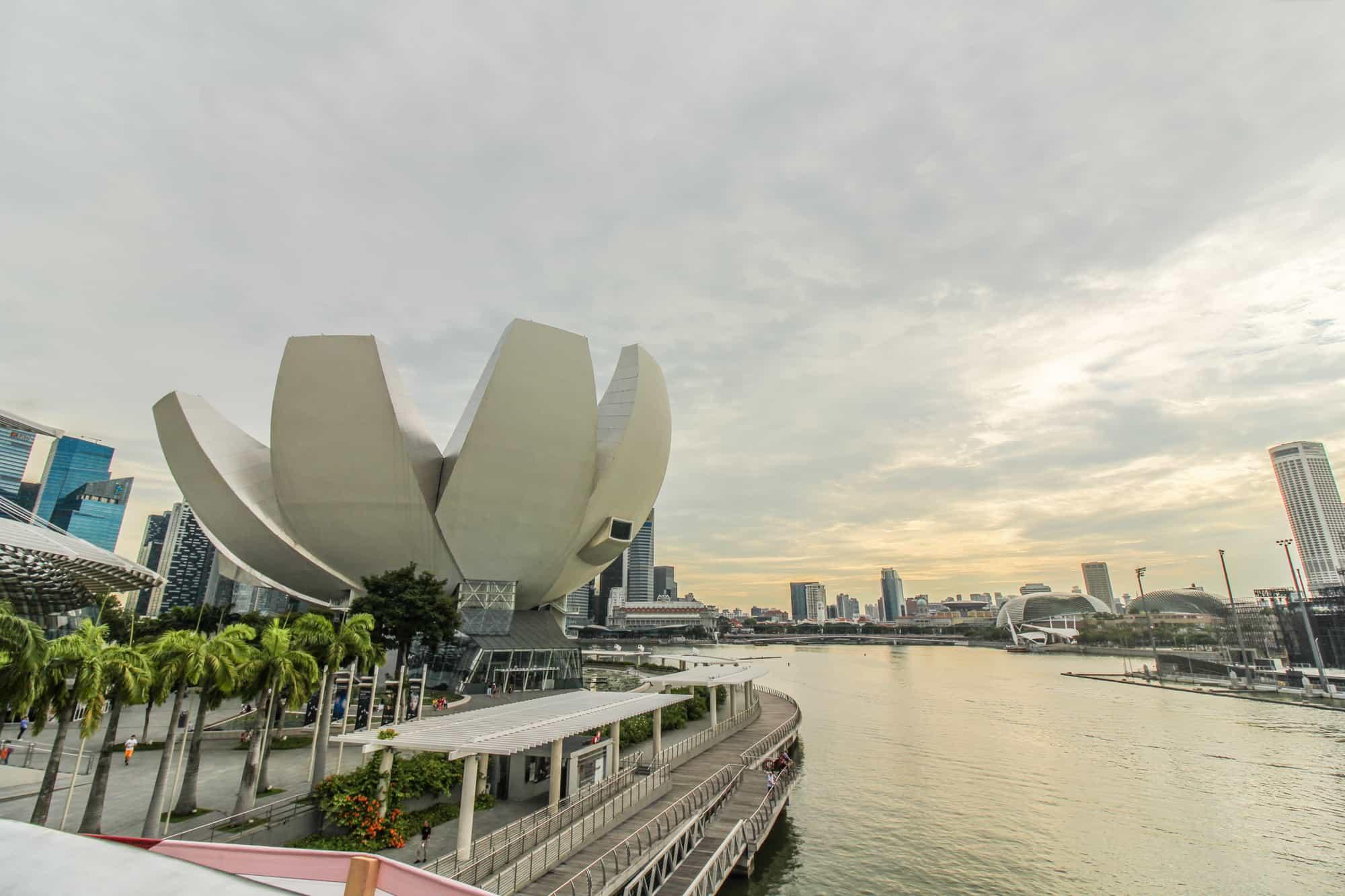 Foto-Highlights in Singapur: Lotus / Museum of Artscience