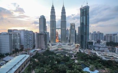 Mein schönster Sonnenuntergang Teil 5 – Kuala Lumpur in Malaysia