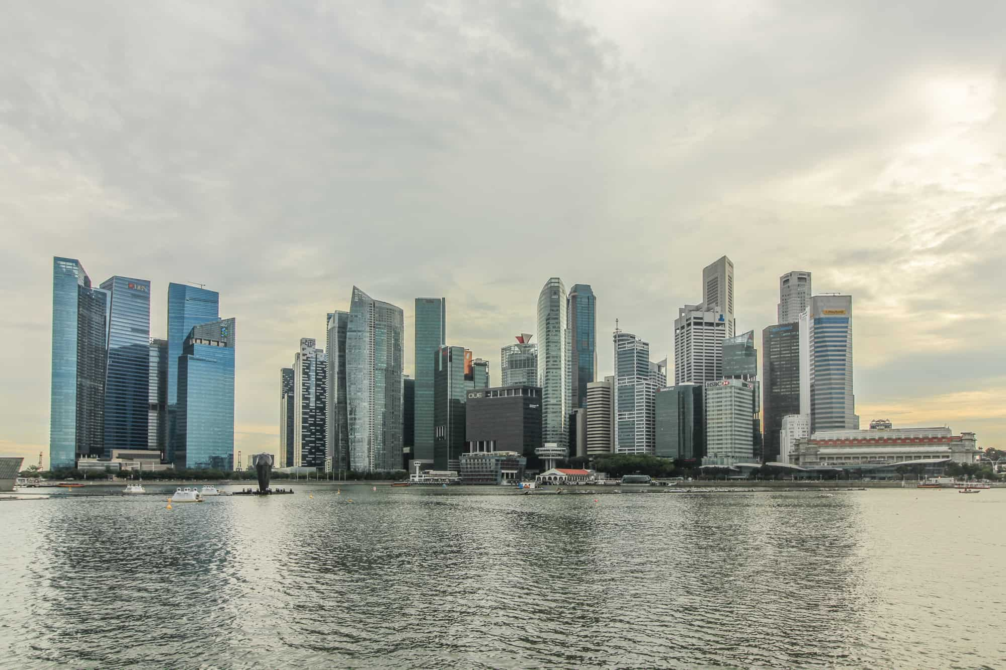 Photo Spots in Singapore: Skyline
