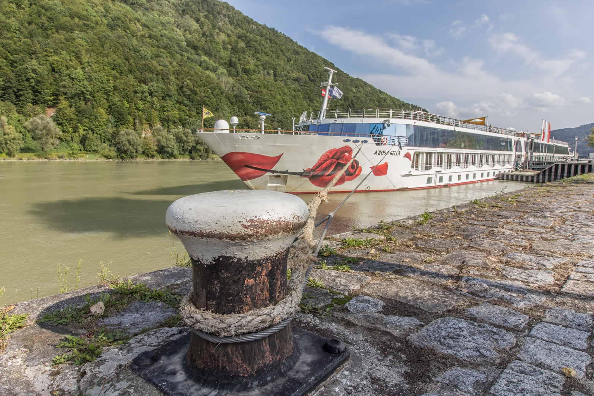 Die A-ROSA BELLA in Passau