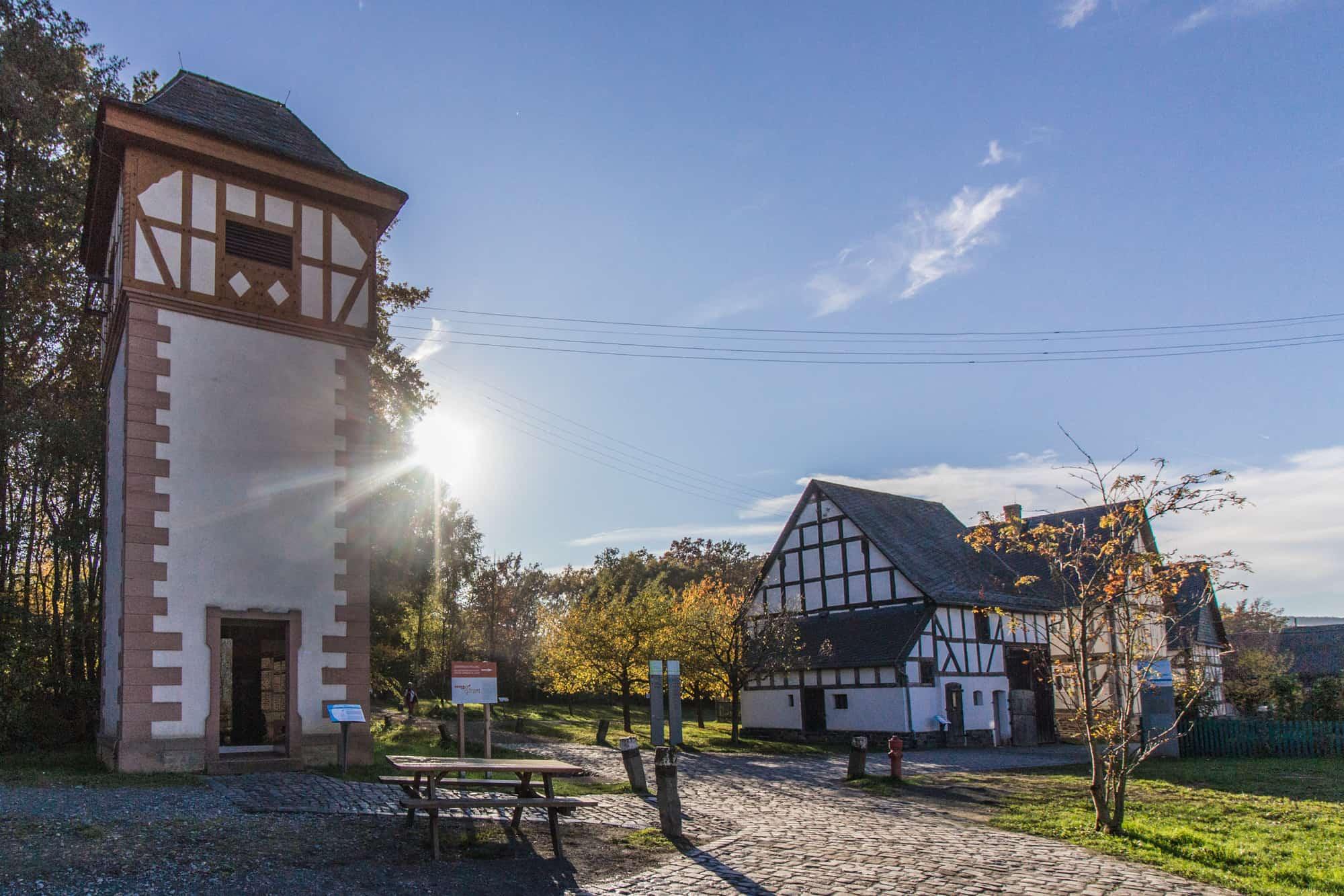 Ausflugsziele im Herbst im Rhein-Main-Gebiet –Hessenpark