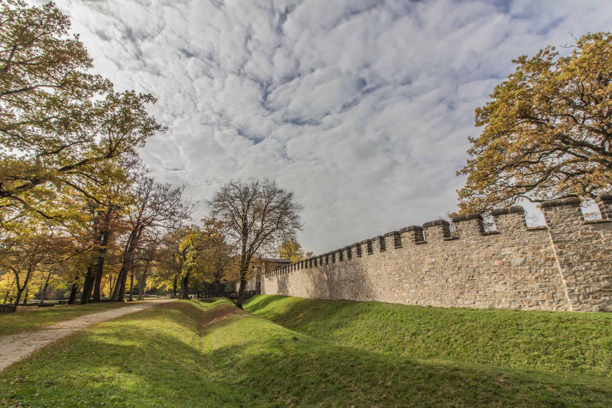 Ausflugsziele im Herbst im Rhein-Main-Gebiet – Die Saalburg