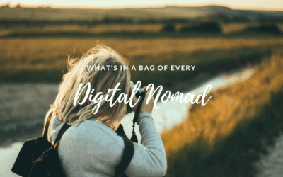 What's in the Bag of Every Digital Nomad?