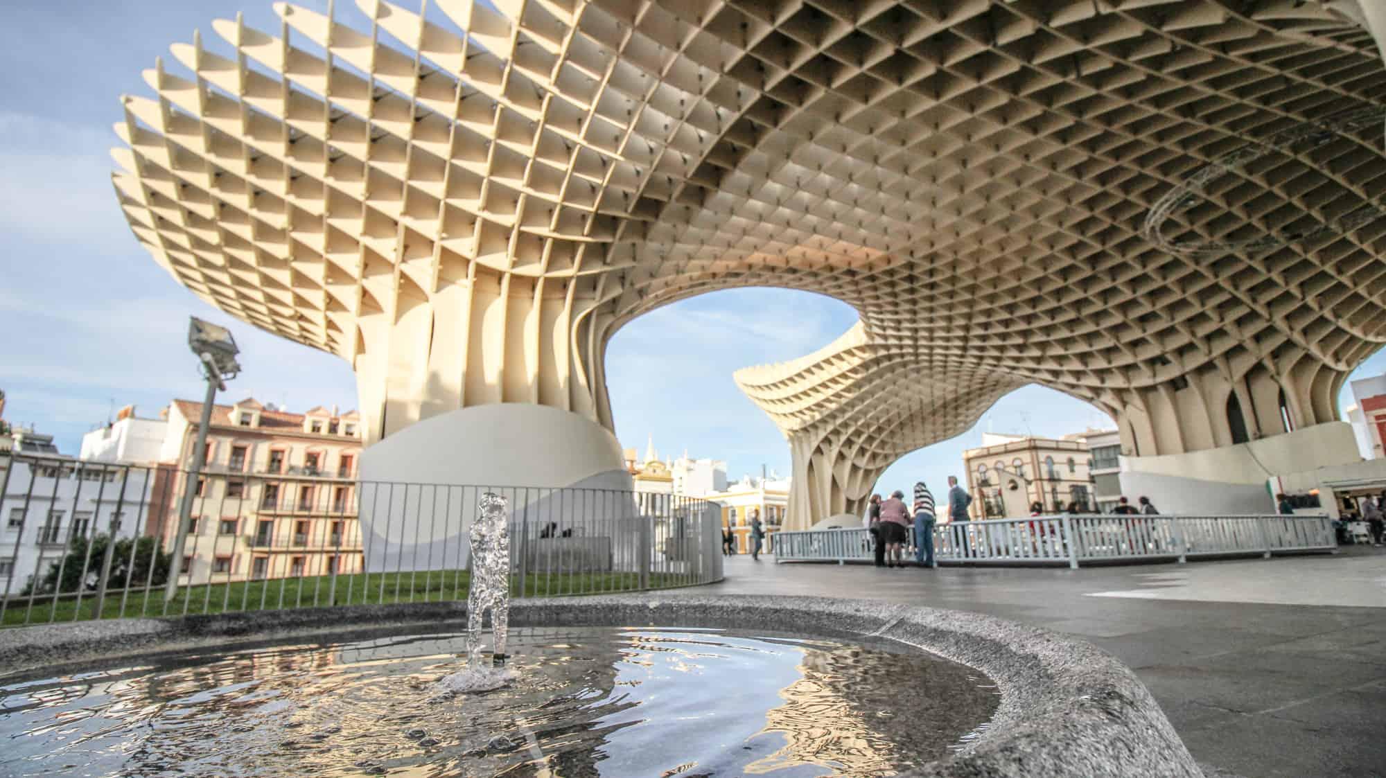 Holzkonstruktion Sevilla
