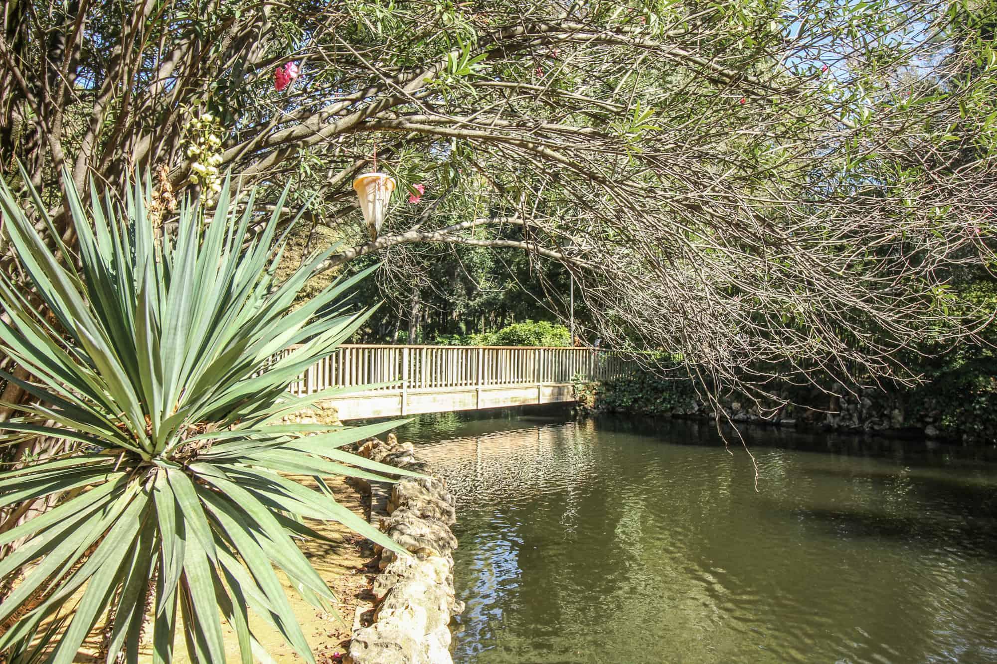 Im Park in Sevilla