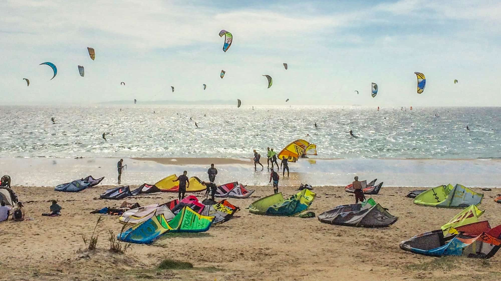 Kites in Tarifa