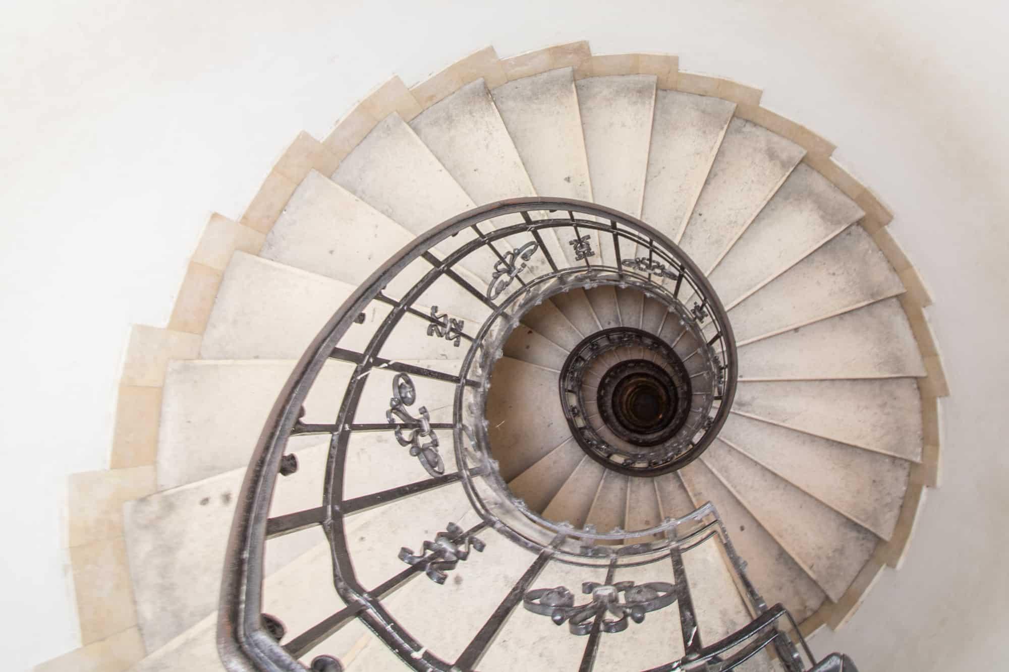 treppe basilica budapest