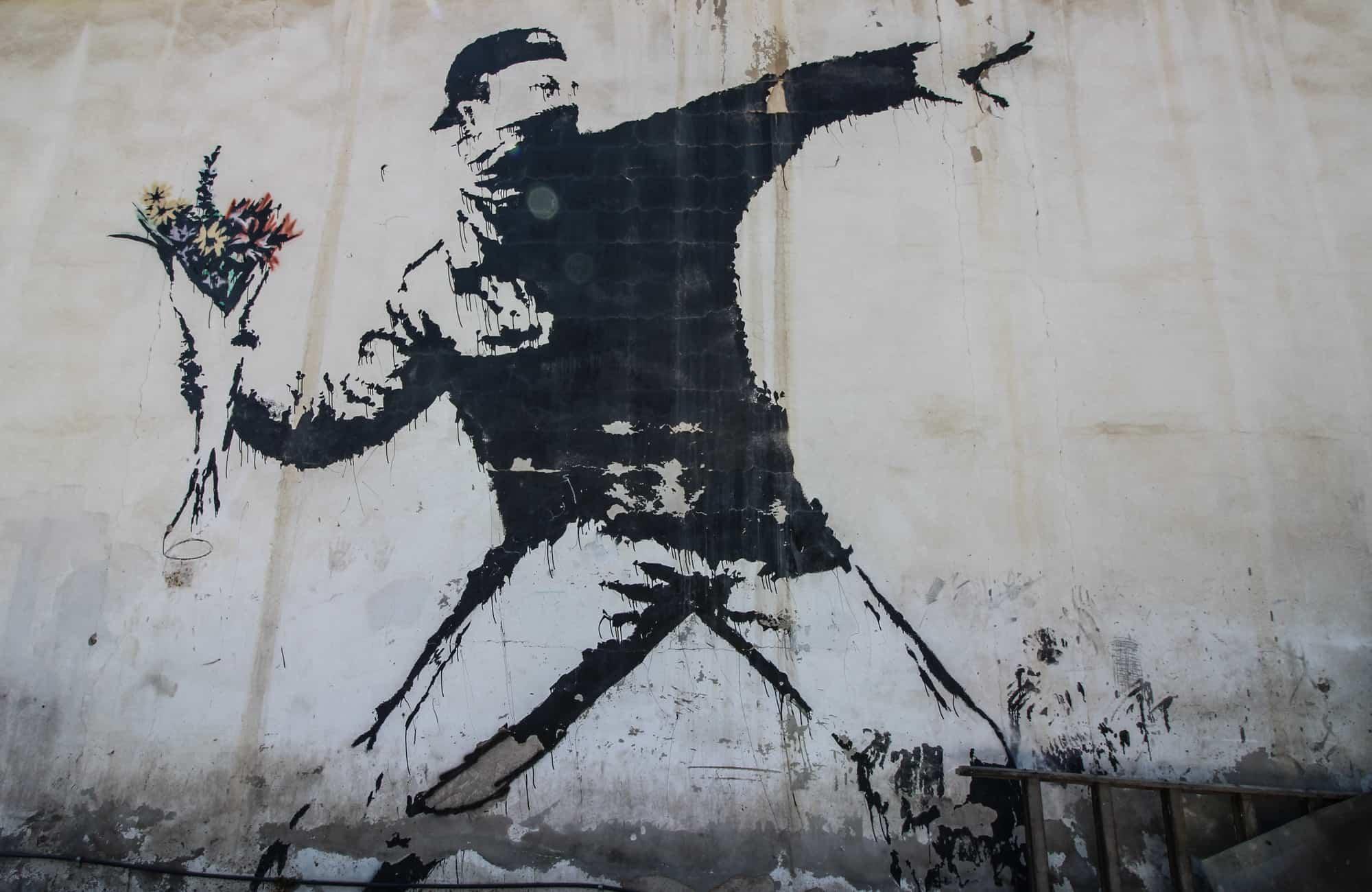 banksey graffiti