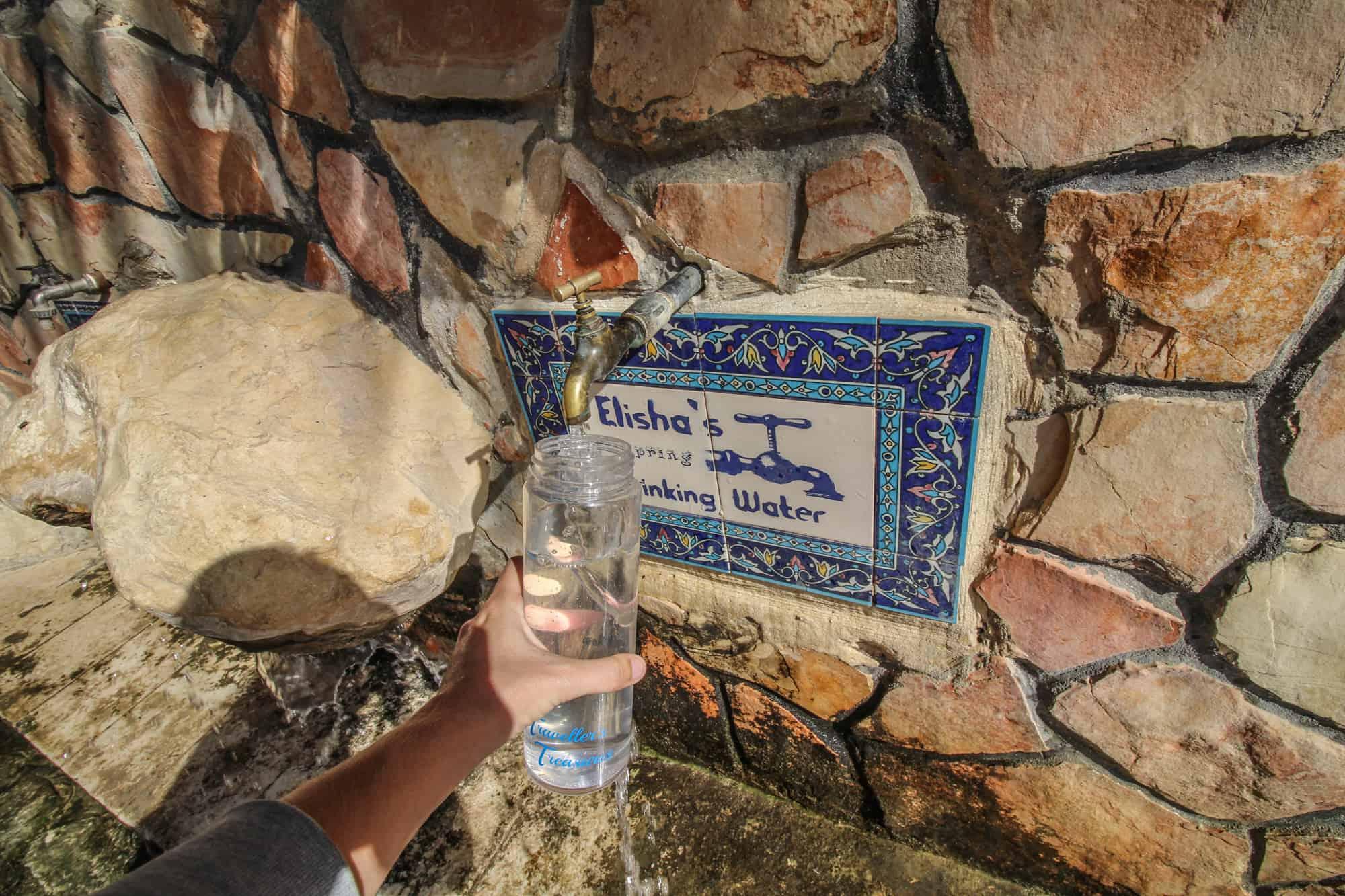 elija well drinking water