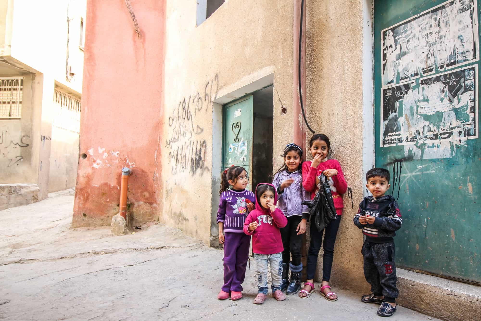 Nablus und Jenin Tour Stopp 6: Flüchtlingslager in der Nähe von Jenin