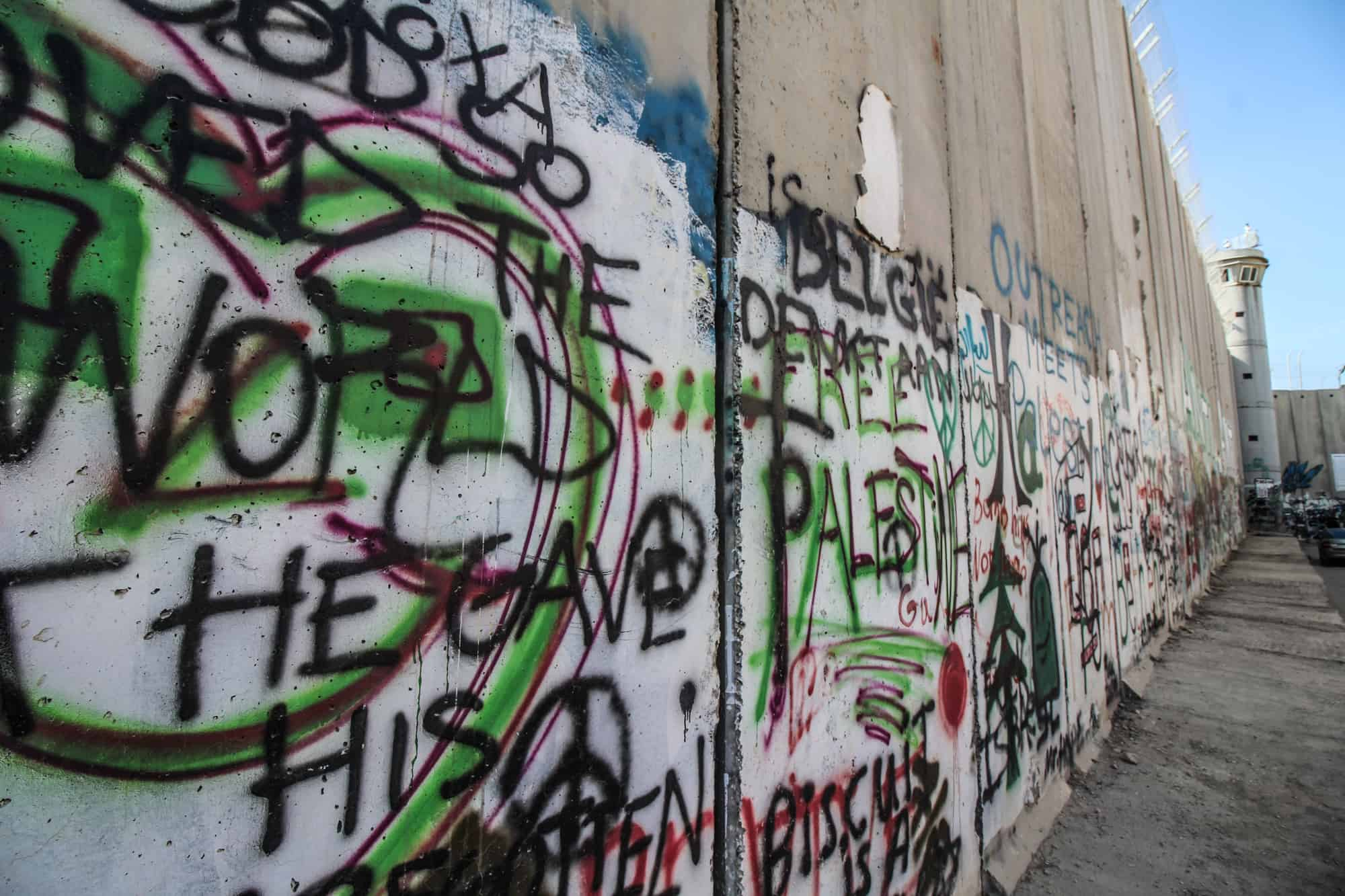 the wall in palestine